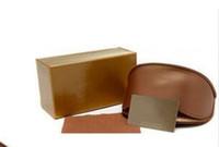 Wholesale Wayfarer Original - 8 kinds Sunglasses Case Brand Designer WITH LOGO Sunglasses Box fashion original case