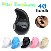 Wholesale Hidden Bluetooth Earphones - For Iphone X 8 S530 Mini Wireless Small Bluetooth Earphone Stereo Light Stealth Headphone Headset Earbud With Mic Ultra-small Hidden