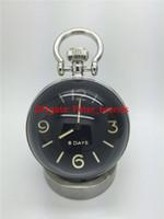 ручной ночник оптовых-Высококачественные механические ручные настольные часы класса люкс в стиле модные настольные часы из нержавеющей стали с подсветкой ночник