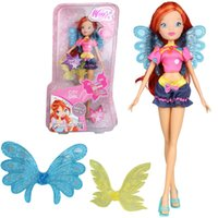 Accessori Dolls 3 stili Colorful ragazza Winx Club Doll Bella ragazza figure d'azione Winx Dolls con squisita ala Giocattoli classici