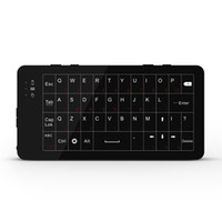 Wholesale tv wifi keyboard - Portable W8 2.4G WiFi Touch Wireless Keyboard & Mouse Support Windows System multi-media control For Smart TV Box Laptop Mini PC