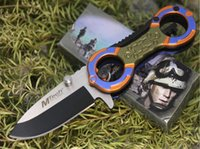 Wholesale mtech knives wholesale - Mtech Pocket Folding Knife 5Cr13Mov 56HRC Aluminum Handle Tactical Camping Hunting Survival Pocket Flipper Utility EDC Tools Collection