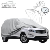 Wholesale Outdoor Waterproof Covers - Car Cover for SUV Indoor Outdoor Sunscreen Heat Protection Waterproof Dustproof Anti-UV Scratch-Resistant Universal car-covers