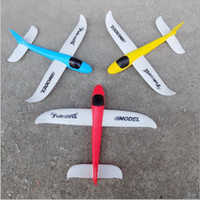Jouets à LED Wholesale Puzzle Magic Flying Gliders Avion Avion Mousse Retour Avion Enfants Enfant Bricolage Jouet éducatif
