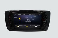 Wholesale Dab Antenna - ANDROID 5.1.1 QUAD CORE 16GB 1024*600 CAR GPS SUPPORT TMPS DAB OBD MIRROR LINK CAR DVD FOR IBIZA 2013