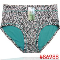 Wholesale Leopard Lingerie Yellow - Wholesale-4XL 5XL hipster sexy women panty underwear panties pink tanga seamless calcinha ropa interior femme mujer thong lingerie VS106
