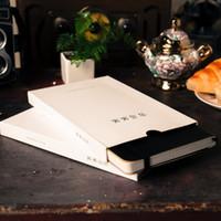carpetas a5 al por mayor-A5 cuadrícula horizontal en blanco enlace elástico bloc de notas de cuadernos de papelería cuaderno diario agenda agenda oficina de la escuela ENVÍO GRATIS (7)