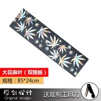 Wholesale Wholesale Abrasive Sandpaper - Wholesale- 24 * 120 cm 24 * 85 cmSkateboard Sticker Sandpaper Waterproof Abrasive Wear Resisting Replace Single Rocker