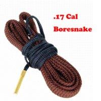 Wholesale Bore Snake 7mm - Hot Gun Bore Snake Cleaning .22 Cal .30cal .12gauge . 9mm .7mm .8mm .20gauge Boresnake Rifle Cleaner Kit , Fast shipping