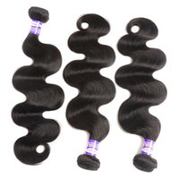 Wholesale Mongolian Russian Mix - Malaysian Virgin Hair Body Wave Bundles Remy Hair 8-28 inch Malaysian Natural Color 100 Human Hair Weaves Extensions Kinky Curly Straight
