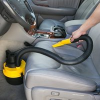 Wholesale Car Hoover - 12V Cigarette Lighter Wet   Dry Car Vacuum Cleaner Hoover Caravan Van & Inflator