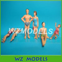 Wholesale People For Model Building - scale 1:50 model swim pool figures, model swimming people for architecture