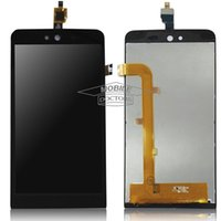 Qualità originale all'ingrosso per Wiko Rainbow Jam 5 '' Display LCD + Touch Screen Digitizer per Wiko Rainbow Jam 3G LCD Spedizione gratuita