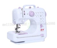 Wholesale Mini Knitting Machine - Hot sale 12 Stitches mini Sewing Machine Portable Knitting Machine Multifunction Electric Replaceable Presser Foot maquina de costura MYY