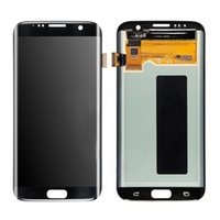 Wholesale Mega Panel - Original LCD Screen For Samsung Galaxy S7 Edge G935 G935F G935A G935FD G935P LCD display touch screen Digitizer DHL Free