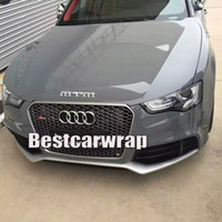 Wholesale car roof wrap - Ultra 3 Layers Cement Grey Gloss Vinyl wrap Like 3m cement Glossy cement Car Wrap coat skin with Air Free Size:1.52*20M Roll 5x66ft