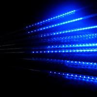 tubos de imersão venda por atacado-20 centímetros 30 centímetros 50 centímetros DIP impermeável LED Meteor Rain Shower tubos de LED de iluminação para Decoração do casamento Festa de Natal do feriado LED Meteor Luz