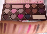 Wholesale sell eye shadow palettes resale online - Hot selling Chocolate Sweet Bon Bons Eyeshadow Palette Natural Pigmen Colors Eye Shadow Palette DHL