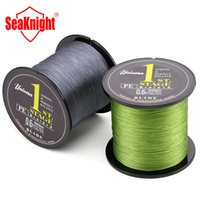 Wholesale Fishing Mm - Wholesale-500M SeaKnight Brand Blade Series Good Quality Japan PE Braided Fishing Line Multifilament Fish Line Rope 8 10 20 30 40 60LB