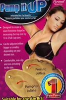 Wholesale Shape Adjusted - 1pair PUMP IT UP Inflatable Bra Pad Inserts Breast Enhancers adjust Lift Shape
