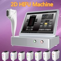 2017 New Arrival home use 3d hifu beauty salon equipment Portable 3d HIFU 15 polegadas Touch Screen CE aprovado