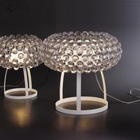 Wholesale clear glass table lamps - Italy FOSCARINI Caboche Table Lamp Caboche piccola and Caboche large PATRICIA URQUIOLA + ELIANA GEROTTO Acrylic Pendant Lights Desk Lamps