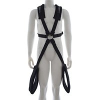 Wholesale Mens Adult - Hot sell Mens Fetish sex chair strap on back ribbon plush bdsm sex swing adult sex products bdsm bondage sex toys for couples