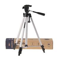 kit dslr al por mayor-Weifeng WT-330A Soporte de trípode profesional Kit de accesorios de trípode de cámara de aluminio para Canon para Nikon para Sony Cámara réflex digital Videocámara