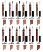 Wholesale lipstick waterproof nyx online - 2016 Hot lipstick Matte nyx soft matte cream Lip Gloss waterproof velvet Colors Matte