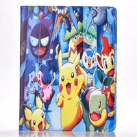 Cartoon Pikachu Poke Smart Case en cuir Support Pouch Pour Ipad Mini 4 1 3 7,9