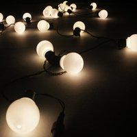 Wholesale Christmas Plug Nightlights - Wholesale- 20 Pieces LED String Lights Colorful Light Chains Wedding Decoration Nightlights Luminaria With EU Plug Christams String Light