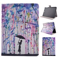 Wholesale Galaxy S2 Case Flower - Samsung Galaxy Tab4 T530 T550 Tab S T800 Tab3 P5200 T560 Tab S2 T815 Mandala Printed Flower PU leather case smart cover