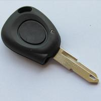 ingrosso chiave remota renault megane-Chiave di ricambio Shell Per Renault Megane Scenic Remote Key IR 1 Tasto telecomando Tasto Fob