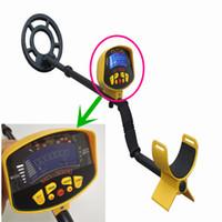 professionelle metalldetektoren handheld großhandel-Berufsmetalldetektor MD3010II Untertage-Metalldetektor-Goldhohe Empfindlichkeit und LCD-Anzeige MD-3010II Metalldetektor
