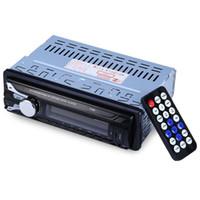 hands free bluetooth vehicle оптовых-1188B FM AUX USB громкой связи для автомобиля аудио устройства Bluetooth автомобильный радиоприемник авто аудио стерео съемная передняя панель SD MP3-плеер