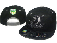 Wholesale Cheap Nrl Hats - 2016 black NRL snapback hats Sydney Roosters team adjustable snap back men ball caps high quaity cheap prices DD