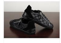 sapatos da marca francesa venda por atacado-Novos homens sapatilhas sapatos de alta qualidade francês famosa marca designer de luxo sapatos casuais tamanho 39-44