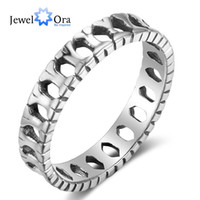Wholesale Sterling Silver Bone - JewelOra New Style Solid 925 Sterling Silver Bone Ring Casual Finger Ring For Women Free Shipping #RI102820