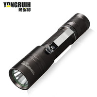 Wholesale Long Range Led Headlight - Yong Rui and mountain bike lights mini flashlight charging long-range suit riding A6-T6 headlights