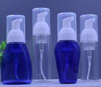 Wholesale Wholesale Foam Soap Bottles - Wholesale-5 Pcs Empty Plastic Foaming Hand Soap Dispenser Clear Foam Pump Bottle 50ml