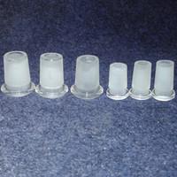 tubo de água pro venda por atacado-Atacado 10mm 14mm 18mm Low Pro Adaptador de Vidro redutor de vidro bongo de vidro da tubulação de água conversor de 14mm a 10mm frete grátis