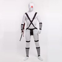 Купить Лайкра Флаги-Halloween Unisex Japanese Flag Lycra Spandex Cool Multicolor Zentai Suits