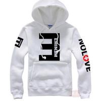 nuevas sudaderas estampadas eminem al por mayor-Nueva marca Hombres Sudaderas con capucha de lana Eminem Impreso Espesar Pullover Sudadera Hombres Ropa deportiva Ropa de moda