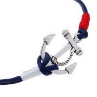 Wholesale Wholesale Nautical - 2017 Hot sell Fashion infinity bracelets pirate nautical bracelet anchor woven nautical gifts bracelet free shipping