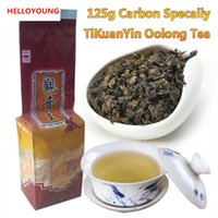 thé spectacle oolong achat en gros de-C-WL060 Haute qualité Chinoise Tieguanyin Tea Fresh Natural Carbon Specaily TiKuanYin Oolong Tea High Cost-effective Tea 125g