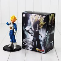 Wholesale plastic model soldiers - 20cm Dragon Ball Z Resolution of Soldiers ROS Vegeta PVC Figure Collectible Model Toy