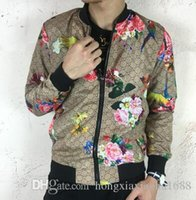 Wholesale Baseball Business - New Arrival Men's Casual Jacket stand collar printing tiger baseball uniform business suit blazers Man Outdoor Coat Top quality