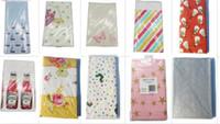 documentos de mapa al por mayor-Mantel de papel desechable 120 * 180 cm mapa de mantel para niños feliz cumpleaños vajilla mesa cubierta