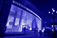 weihnachten twinkle vorhang led lichter großhandel-3 mt * 3 mt 300 LEDs lichter blinkende spur LED String vorhang licht weihnachten String Fairy Hochzeit Vorhang hintergrund Party Funkeln Licht EU Us-stecker