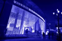 rideau de lumière achat en gros de-3m * 3m 300LEDs lumières clignotant voie LED chaîne rideau lumière noël chaîne fée rideau de mariage fond fête Twinkle Light UE Plug